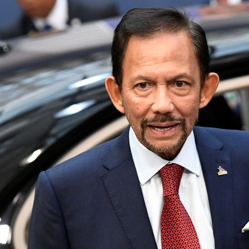 Brunei introduces death by stoning for gay sex amid international condemnation