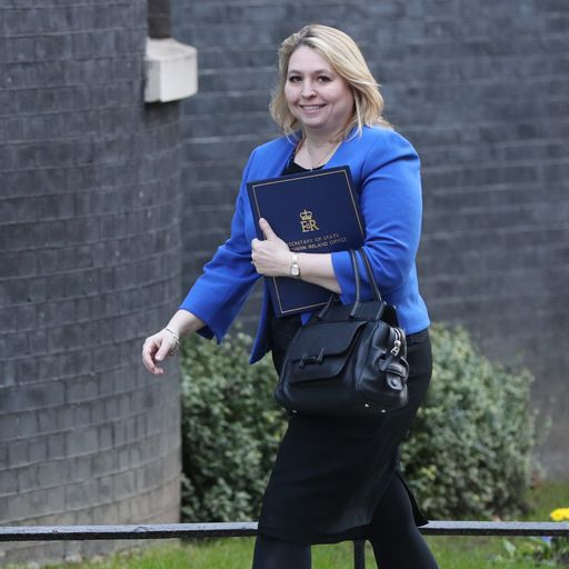Northern Ireland Secretary Karen Bradley 'profoundly sorry' for Troubles comments