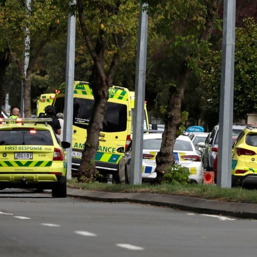 Man charged with murder over mosque shootings in Christchurch
