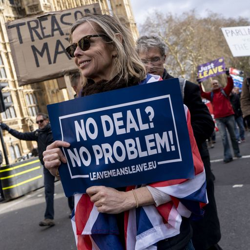 Sky Views: Time to be straight about the no-deal trade-off