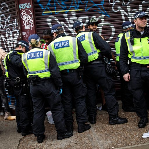 More police allowed to use stop and search powers to combat knife crime