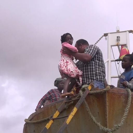 No aid, no government - just a rusty fishing boat to flee Cyclone Idai carnage in Mozambique