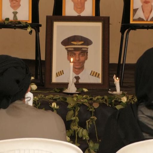 Ethiopia plane crash: Anguish and anger at funeral for young pilot