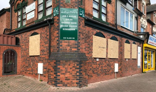 Birmingham mosque attacks: Man arrested after windows were smashed