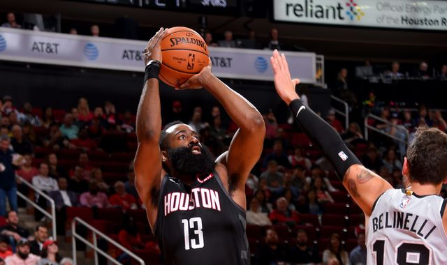 James Harden matches career high with 61 points in Houston Rockets with over San Antonio Spurs