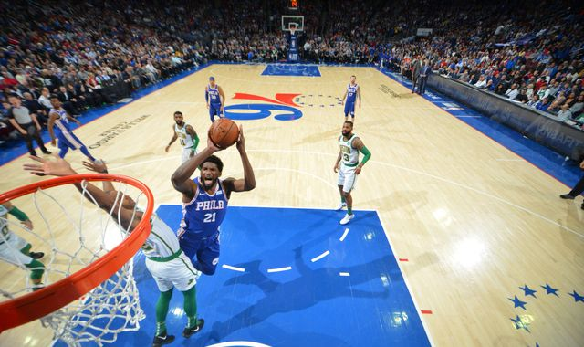 Joel Embiid collects 37 points as Philadelphia 76ers rally to beat Boston Celtics