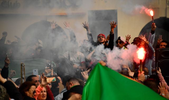 Protests enter fourth week as Algeria's president postpones election