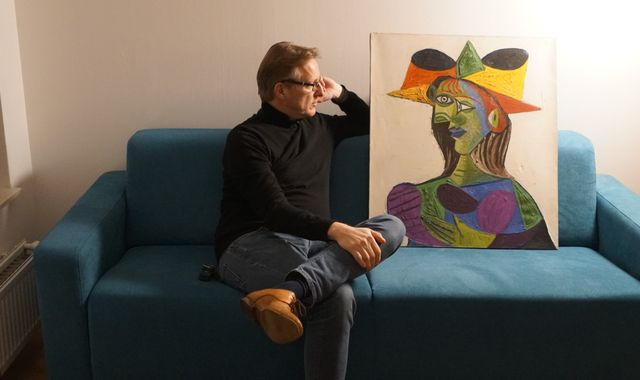 Stolen Picasso painting found by 'art's Indiana Jones' after 20 years
