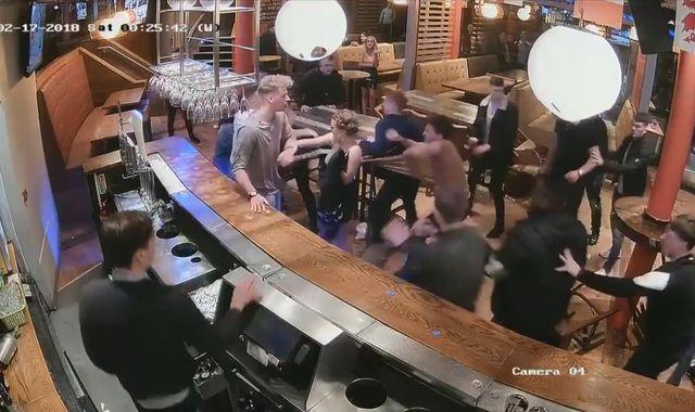 Leeds bar fight: Group of 21 men plead guilty after mass brawl