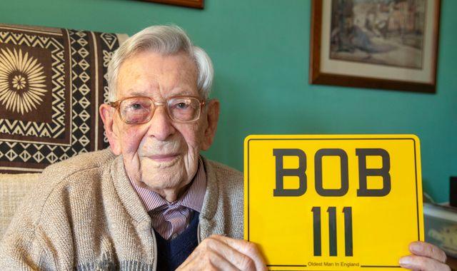 Bob Weighton: Briton, 111, becomes world's oldest man