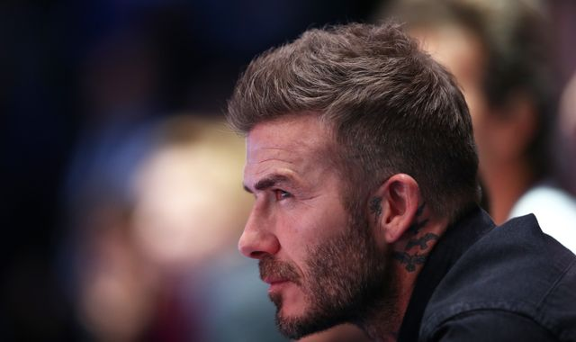 David Beckham admits driving his Bentley in London while using mobile phone, police say