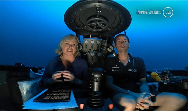 Deep Ocean Live: Sky News makes history with first deep sea TV bulletin