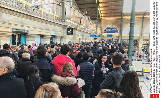 Eurostar passengers urged not to travel from Paris to London due to strike