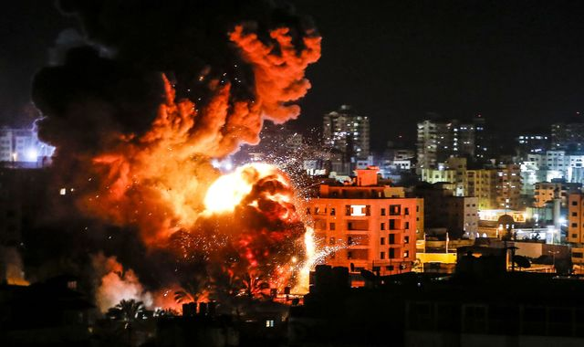 Israel continues hitting Gaza targets after rocket attack