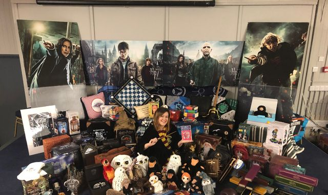 Harry Potter superfan breaks world record for largest collection of memorabilia