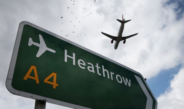 Climate protesters threaten Heathrow Airport 'shutdown' after more than 500 arrests