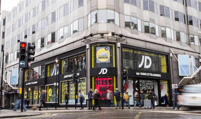 JD Sports defies high street gloom with 'record' result