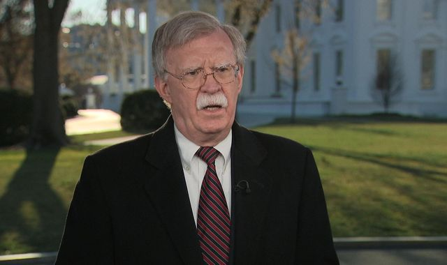 'We're ready for a US-UK deal': Trump adviser John Bolton says America wants to partner with Brexit Britain