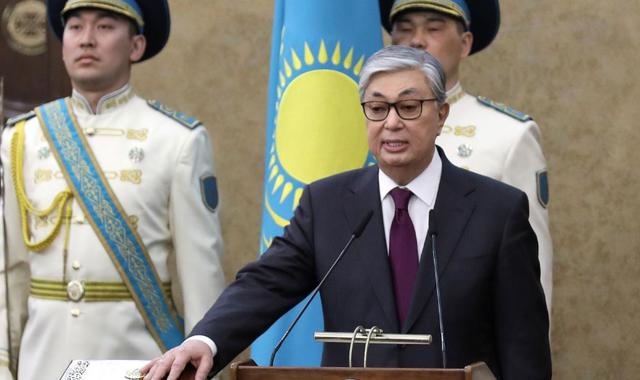 Jomart Tokayev sworn in as leader of Kazakhstan after long time leader resigned