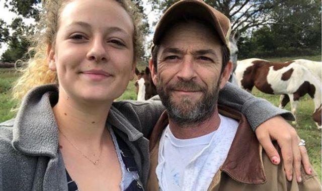 Luke Perry's daughter Sophie attacks 'grief shamers' on Instagram