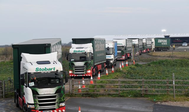 Unexploded wartime bomb found at site to be used as lorry park in event of no-deal Brexit