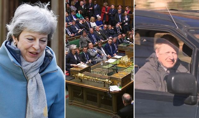PM fights to retain power as MPs look to seize control of Brexit
