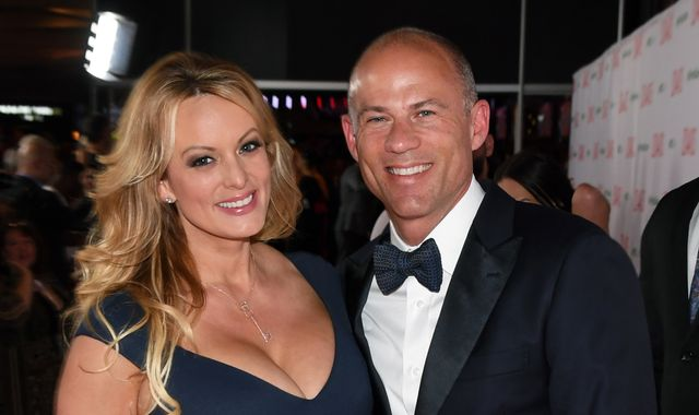 Stormy Daniels lawyer charged with trying to extort up to $26.5m from Nike