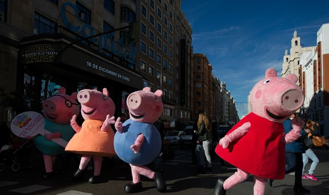 Peppa Pig and Fireman Sam accused of sexism by London Fire Brigade