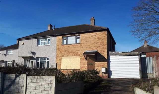 Semi-detached house in Birmingham on sale for just £50k... but you have to clean it