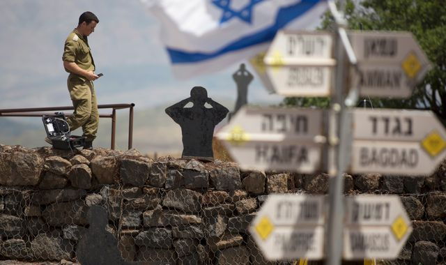 Donald Trump's Golan policy change is 'illegal and unnacceptable'