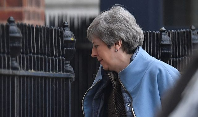 Theresa May receives fresh backing for Brexit deal ahead of third Commons vote