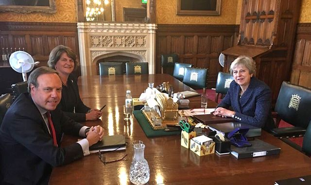 DUP prefer long Brexit delay to PM's deal - Sky sources