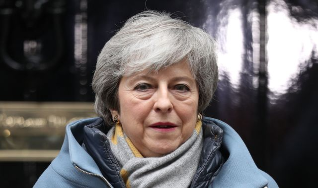 Theresa May pleads with MPs to act like 'patriots' in an effort to revive Brexit deal