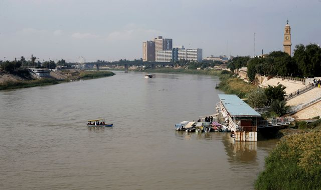 Ferry sinks in Iraq, killing at least 72 people