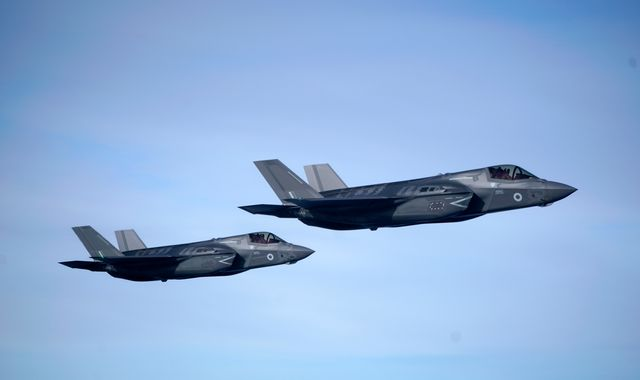 RAF's new F35 jets fly operational missions for first time with sorties against Islamic State
