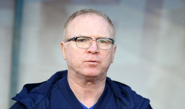 Alex McLeish: Scotland were nervous during laboured win over San Marino