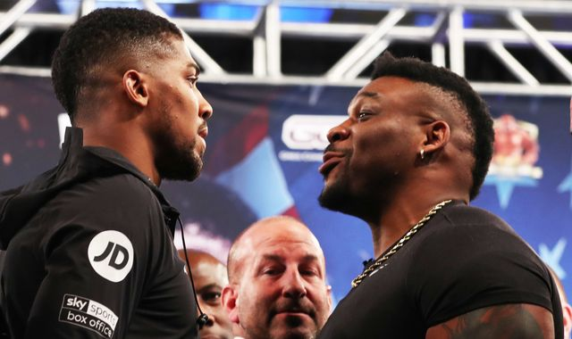 Anthony Joshua says Jarrell Miller 'doesn't deserve to be in a ring' after reported drug test failures