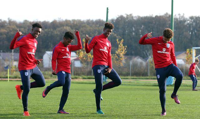 Callum Hudson-Odoi called up to England senior squad for first time
