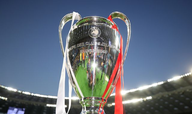 When are the Champions League semi-finals and final?