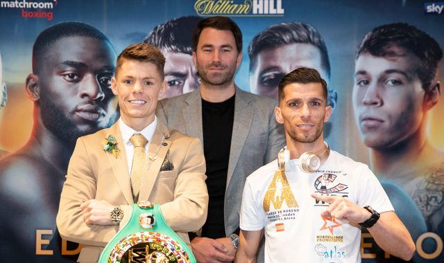 Edwards vs Moreno: Charlie Edwards vows to start WBC title reign with emphatic victory