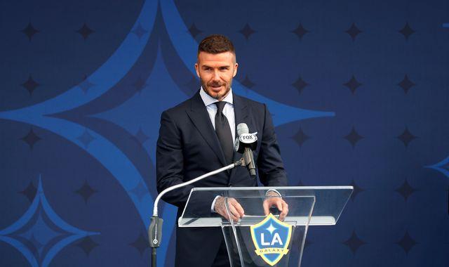David Beckham admits to using phone while driving his Bentley