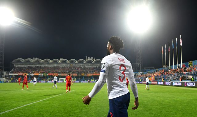 Montenegro charged with racist behaviour towards England players