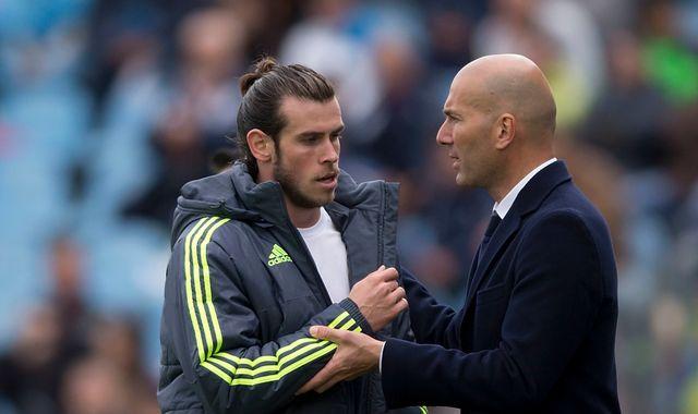 Real Madrid boss Zinedine Zidane puts faith in Gareth Bale