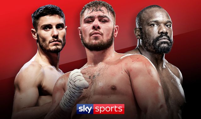 Allen vs Browne: Live stream as David Allen, Derek Chisora and Josh Kelly appear at press conference