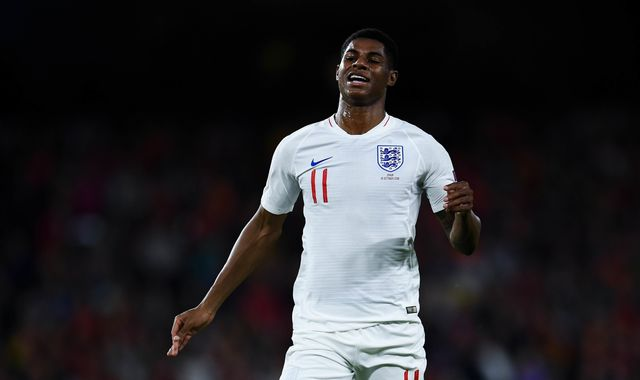 Marcus Rashford withdraws from England squad with injury