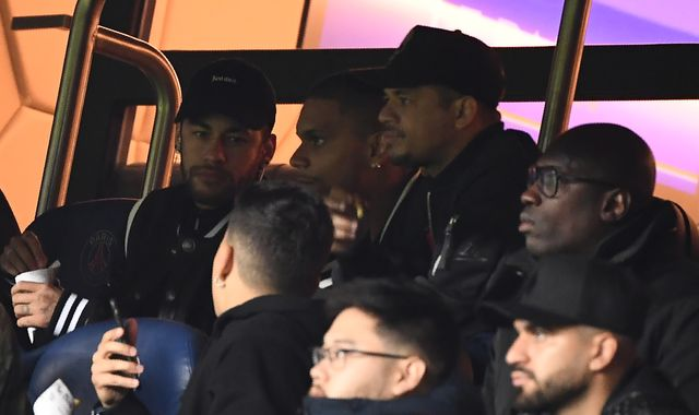 Neymar charged by UEFA after blasting Manchester United VAR penalty in foul-mouthed rant