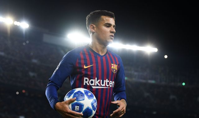 Philippe Coutinho agrees Bayern Munich loan move from Barcelona