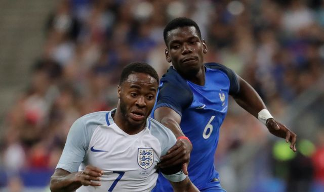 Paul Pogba says Raheem Sterling does not get respect he deserves