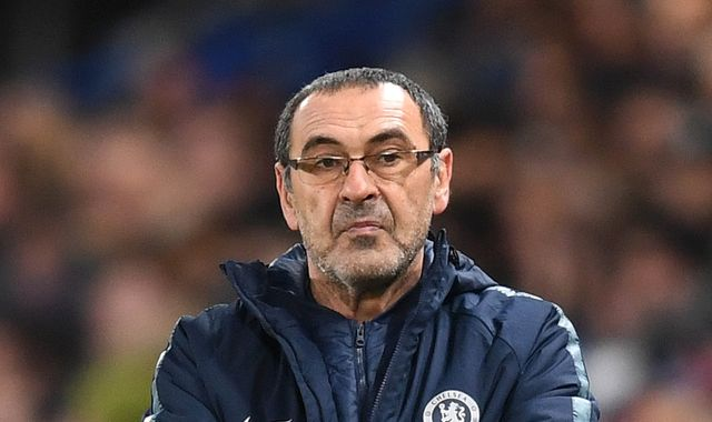 Chelsea head coach Maurizio Sarri is Juventus' first choice to replace Massimiliano Allegri