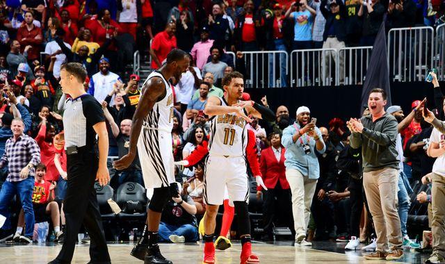 Trae Young hits game-winning floater as Atlanta Hawks beat Philadelphia 76ers